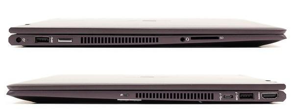HP ENVY x360 15 (AMD) インターフェース