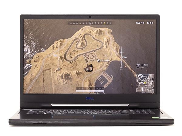 Dell G7 17 7790 ゲームのベンチマーク