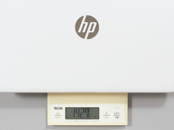 HP 14s-dk0000 重さ