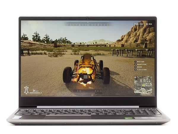 IdeaPad S540 ゲーミング ゲーム系ベンチ