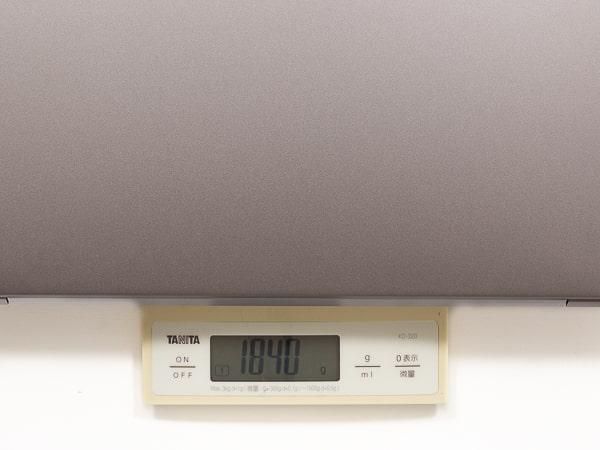 IdeaPad S540 ゲーミングエディション 重さ
