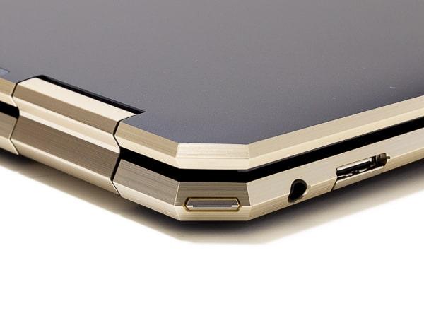 HP Spectre x360 13 2019年モデル 電源ボタン