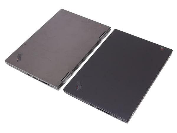 ThinkPad X1 Yoga 2019年モデル カラーの比較