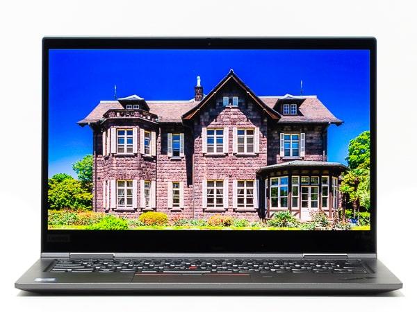 ThinkPad X1 Yoga 2019年モデル 明るさ