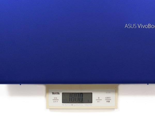 VivoBook S15 重さ