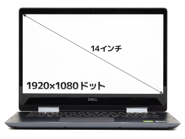 Inspiron 14 5000 2-in-1 (5491) 画面