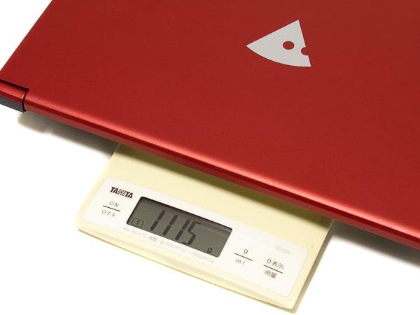m-Book X400B 重さ