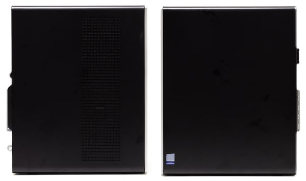HP Pavilion Desktop 595 側面