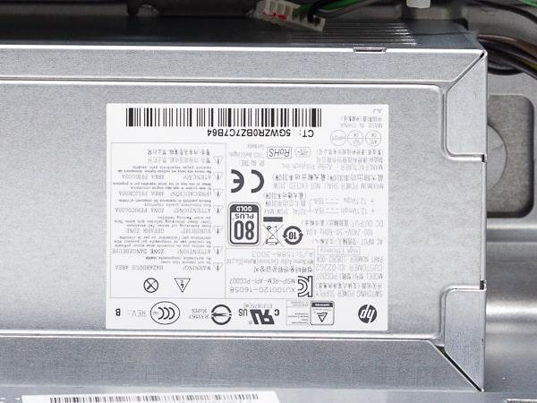HP Pavilion Desktop 595 電源