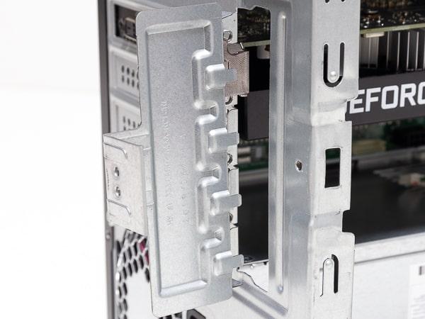 HP Pavilion Desktop 595 グラボの固定