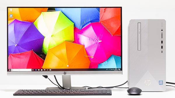 HP Pavilion Desktop 595 設置イメージ