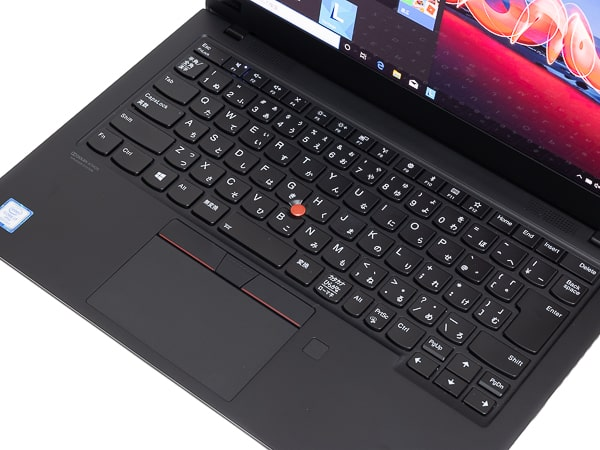 ThinkPad X1 Carbon 2019年モデル パームレスト