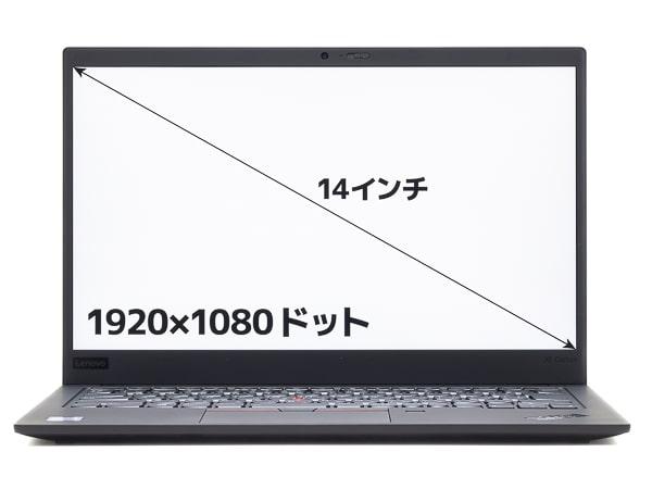 ThinkPad X1 Carbon 2019年モデル 解像度