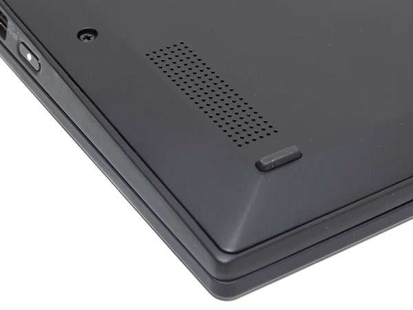 ThinkPad X1 Carbon 2019年モデル スピーカー