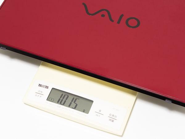 VAIO SX14 重さ