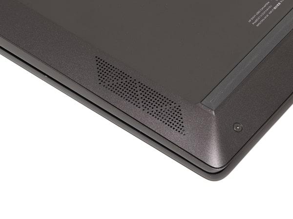 HP ENVY x360 13 Wood Edition スピーカー