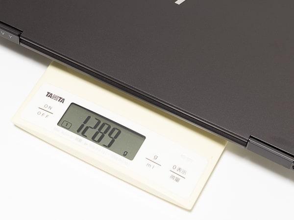 HP ENVY x360 13 Wood Edition 重さ