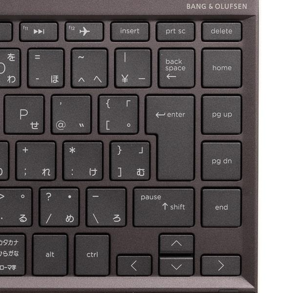 HP ENVY x360 13 Wood Edition 配列