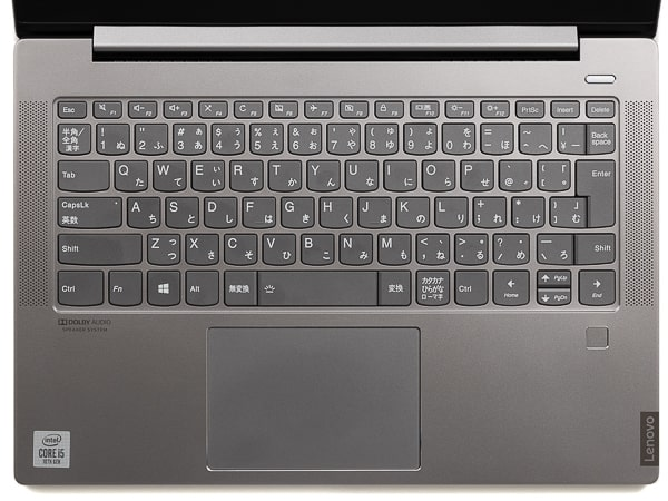 IdeaPad S540 (14) キーボード