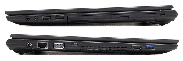 mouse F5シリーズ インターフェース