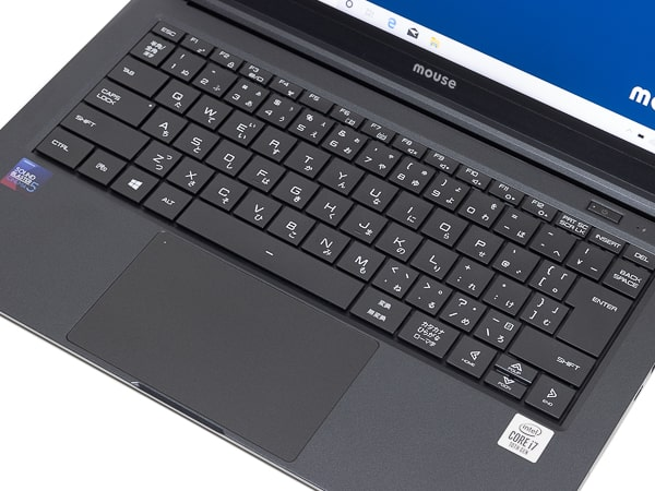 mouse X4-i7 パームレスト