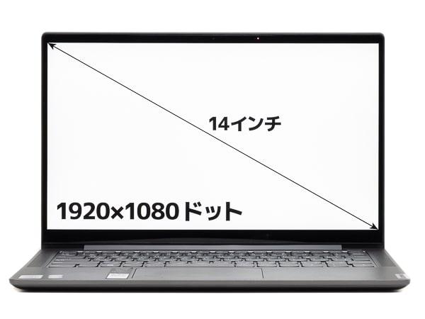 Yoga S740 (14) 画面サイズ
