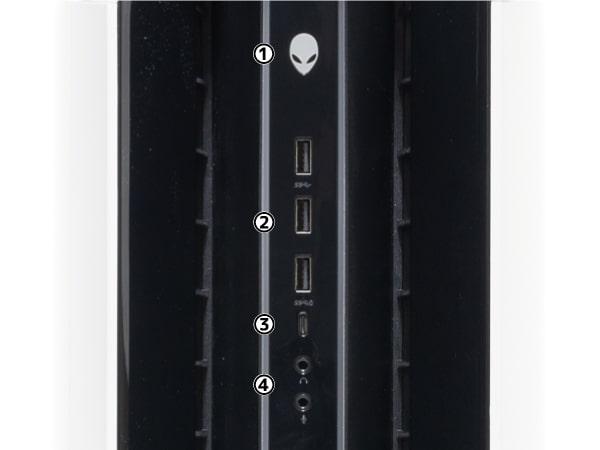 Alienware Aurora R9 フロントパネル
