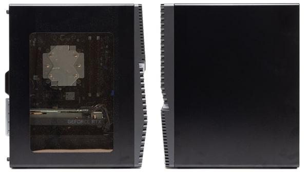 Dell G5 ゲーミング デスクトップ 側面