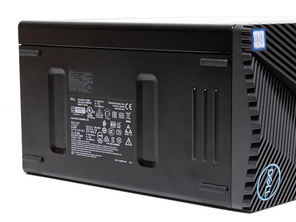 Dell G5 ゲーミング デスクトップ 底面部