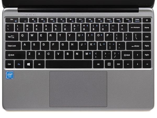 CHUWI HeroBook Pro キーボード