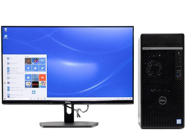 OptiPlex 7071 デスクトップ 設置イメージ