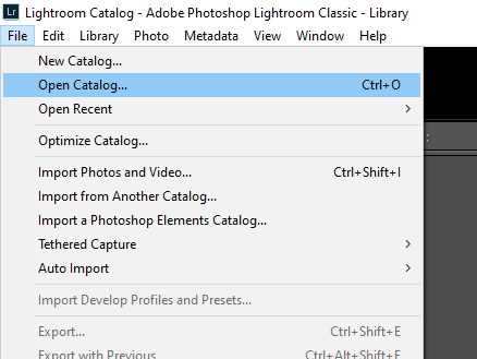 PugetBench for Lightroom Classic カタログ