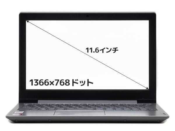 IdeaPad Slim 150 画面サイズ