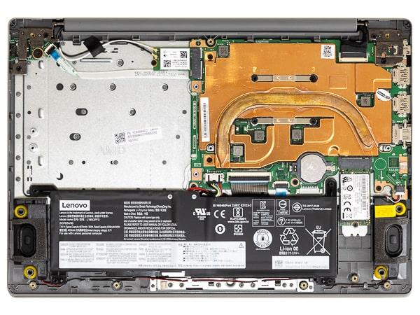 IdeaPad Slim 150 本体内部