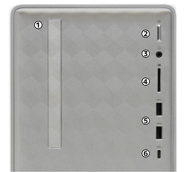 HP Pavilion Desktop 590 前面