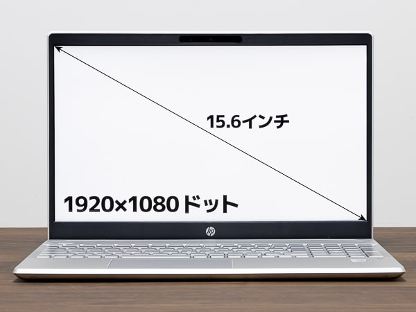 HP Pavilion 15-cs3000 画面サイズ