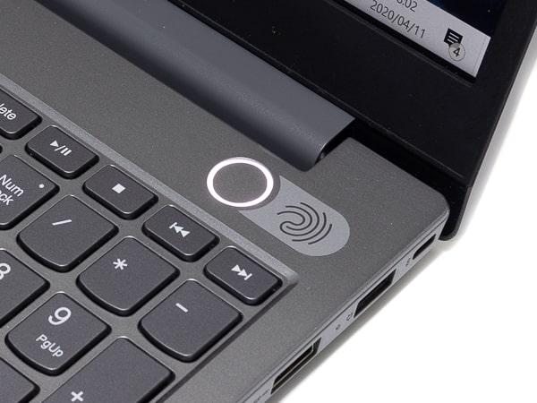 ThinkBook 15 指紋センサー