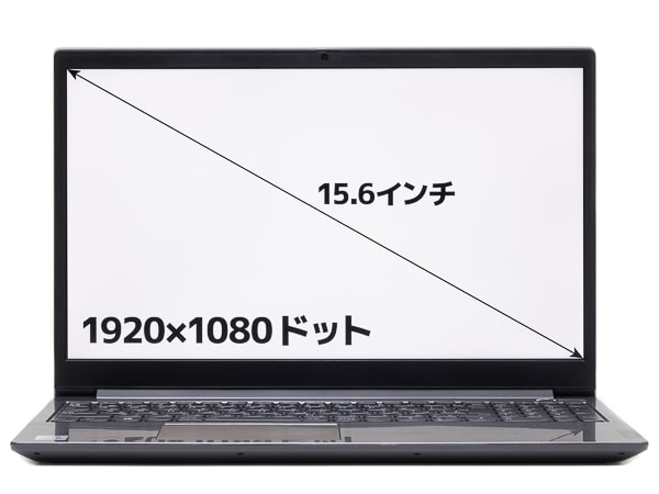 ThinkBook 15 画面サイズ