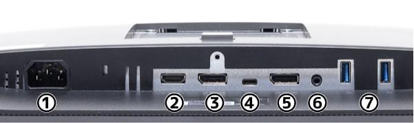 U2520D インターフェース