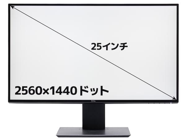 U2520D 画面サイズ