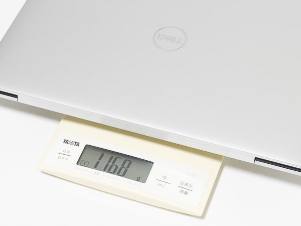 XPS 13 9300 重さ