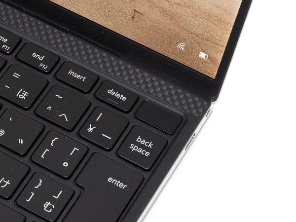 XPS 13 9300 指紋センサー