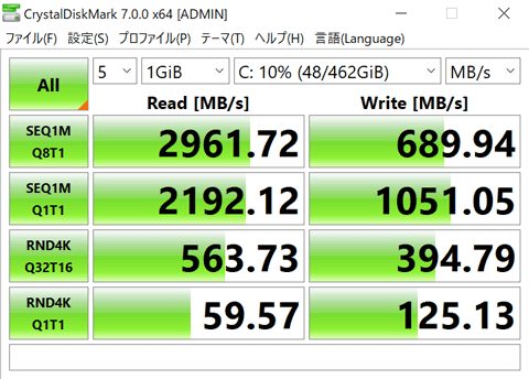 XPS 13 9300 ストレージ