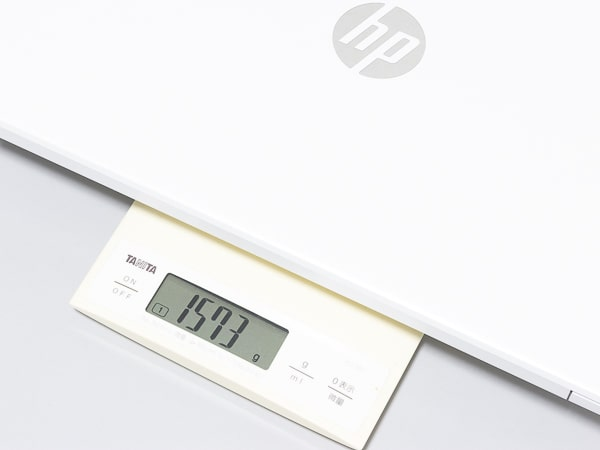 HP 15s-eq1000 重さ