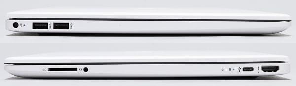 HP 15s-eq1000 インターフェース