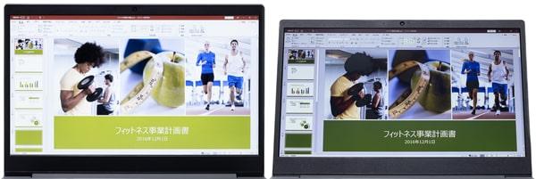 IdeaPad S145 (15) 視野角