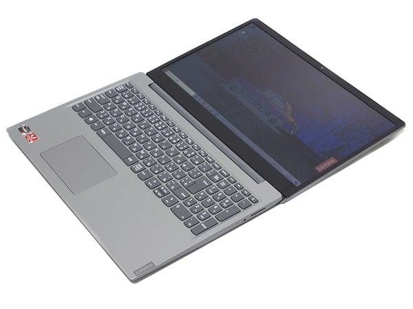 IdeaPad S145 (15, AMD) ディスプレイ角度