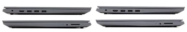 IdeaPad S145 (15)とIdeaPad S145 (15,AMD) インターフェース
