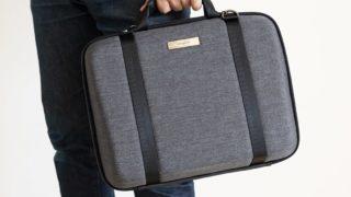 MOBICASE (モビケース) レビュー:首や肩への負担を減らせるノートPCスタンド機能付きバッグ