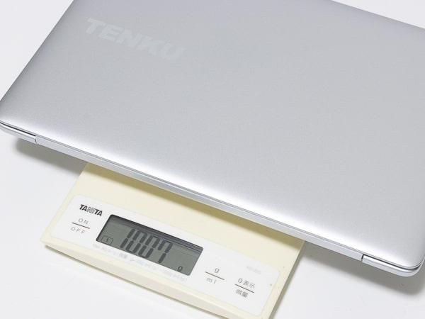TENKU ComfortBook S11 重さ